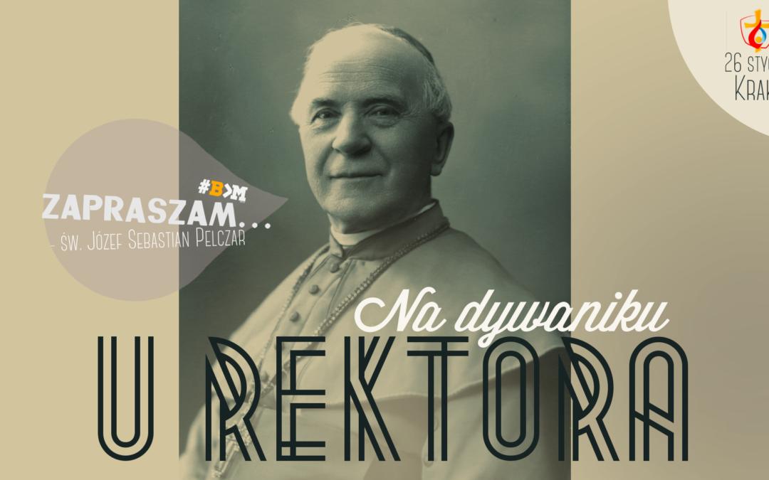 #B>M: na dywaniku u rektora Pelczara